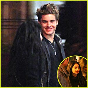 Zac Efron & Vanessa Hudgens are Joe Fortes Flirty