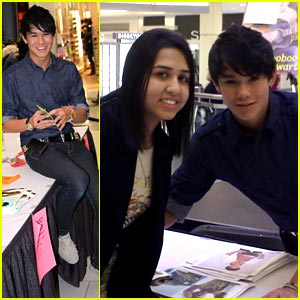 Booboo Stewart Takes Over Metrotown Mall