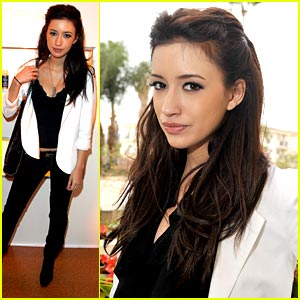 Christian Serratos is a L'Oreal Lady