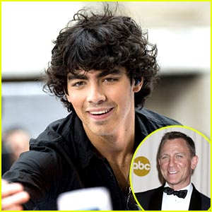 Joe Jonas Dreams of Daniel Craig