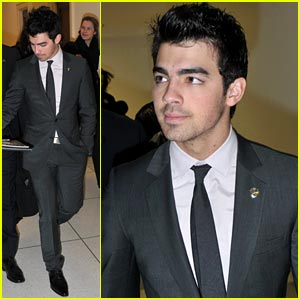 Joe Jonas Honors Eunice Kennedy Shriver