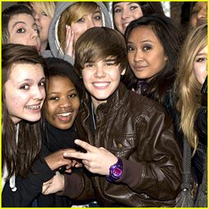 Justin Bieber Loves London Ladies