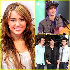 Miley Cyrus & Jonas Brothers: Grammy Presenters!
