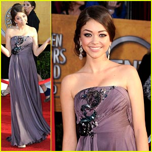 Sarah Hyland is SAG Splendid
