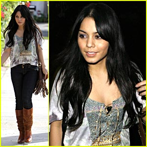 Vanessa Hudgens: Meet Up with Ashley Tisdale!