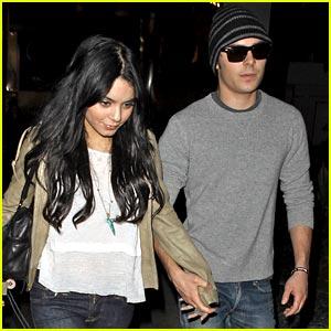 Zac Efron & Vanessa Hudgens: Movie Mates