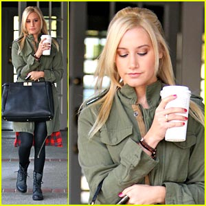 Ashley Tisdale is a Working Woman