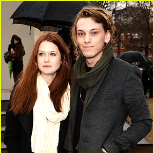 Bonnie Wright & Jamie Campbell Bower: It Just Sort of ...