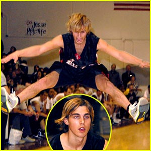 Cody Linley: Toe Touch!