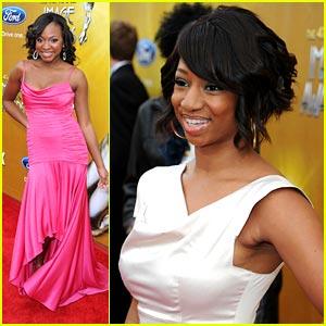 Monique Coleman & Naturi Naughton - NAACP Image Awards 2010