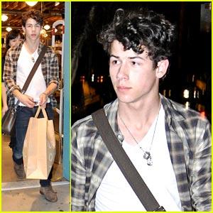 Nick Jonas Shops Urban Outfitters