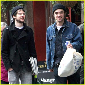 Robert Pattinson & Tom Sturridge Shop The Sales