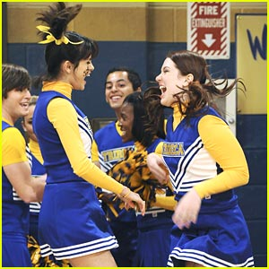 Selena Gomez & Jennifer Stone are Cheerific!