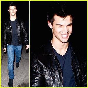 Taylor Lautner: Post Grammy Party Guy