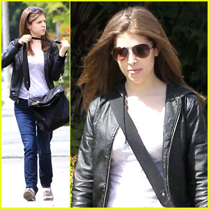 Anna Kendrick Shops at Saks