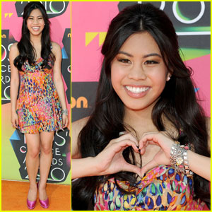Ashley Argota - 2010 Kids Choice Awards