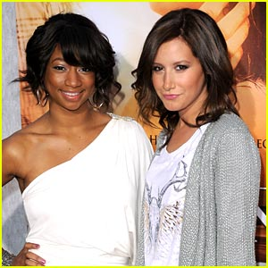 Ashley Tisdale & Monique Coleman: The Last Song Sweethearts