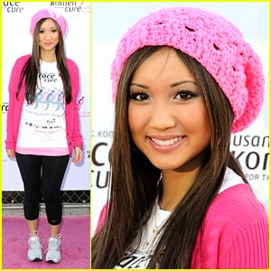 Brenda Song Races For the Cure