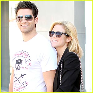 Brittany Snow & Ryan Rottman are Armani Adorable