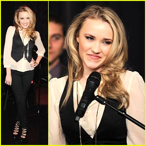 Emily Osment is Stone Cold Austin Cool