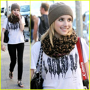 Emma Roberts is Canon Cute