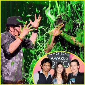 Jackson Rathbone: Slimed by Nicola Peltz!