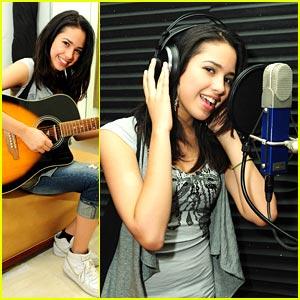 Jasmine V Hits The Studio
