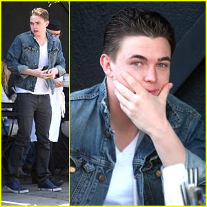 Jesse McCartney: Jean Jacket at Joan's