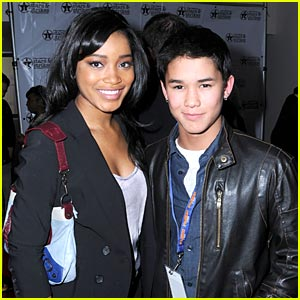 Keke Palmer & Booboo Stewart Have A Place Called Home
