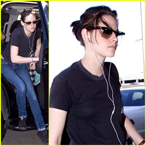Kristen Stewart: Laid Back at LAX