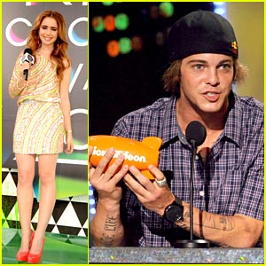 Lily Collins: Ryan Sheckler Wins Fave Male Athlete!