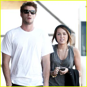 Miley Cyrus & Liam Hemsworth are Sushi Sweet