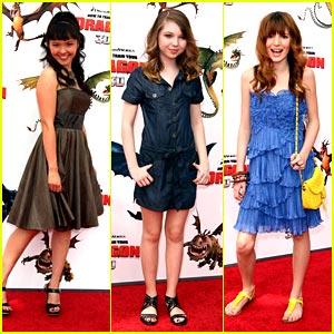 Sammi Hanratty, Bella Thorne & Tania Gunadi: Dragon Dolls