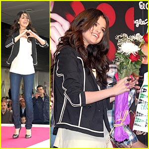 Selena Gomez is Madrid Marvelous