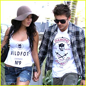 Vanessa Hudgens & Zac Efron are a Kitson Couple