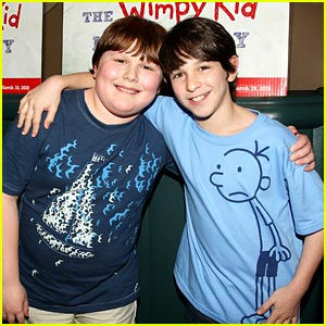 Zachary Gordon & Robert Capron are Palace Pals