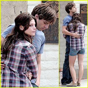 Ashley Greene & Sebastian Stan Cozy Up