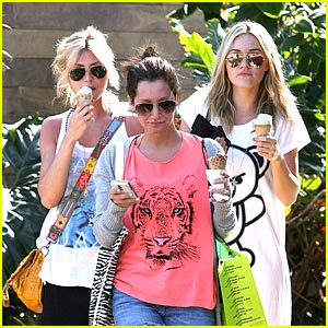 Ashley Tisdale & 78violet: Ice Cream Sweeties