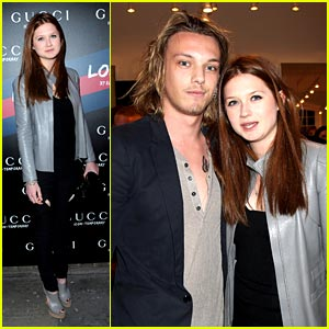 Bonnie Wright & Jamie Campbell Bower: Gucci Icon Temporary Twosome