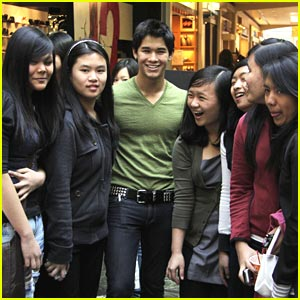 Booboo Stewart Gets Punched in Vancouver