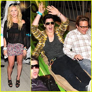 Brittany Snow & David Henrie: Coachella Crazy
