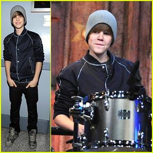 Justin Bieber: Drum Duet on Jimmy Fallon