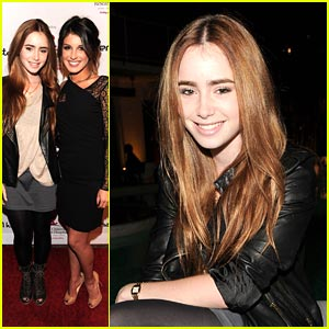 Lily Collins Supports Shenae Grimes' Snapshots