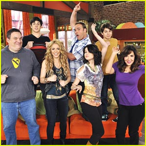 Shakira on Wizards of Waverly Place TONIGHT!