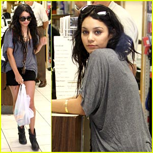 Vanessa Hudgens Heads To Harry's