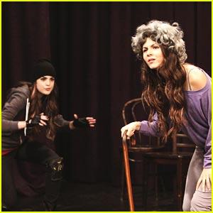 Victoria Justice & Liz Gillies: Stage Fight!