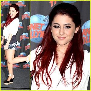 Ariana Grande is Planet Hollywood Pretty