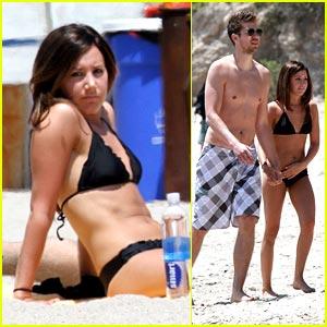 Ashley Tisdale & Scott Speer: Beach Bums