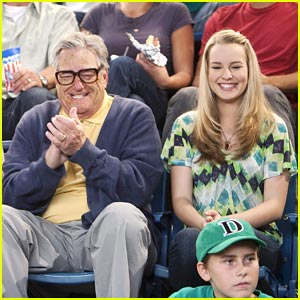 Bridgit Mendler Takes Blake To A Ball Game