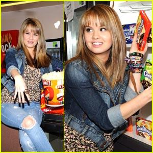 Debby Ryan is Popcorn Playful